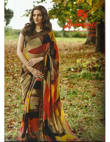 Laxmipati Printed Saree-3892